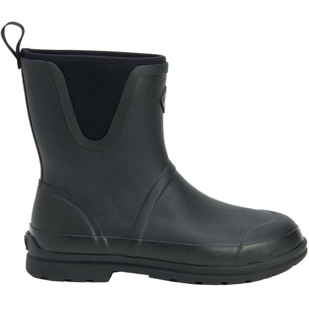 マックブーツ Muck Boots メンズ レインシューズ・長靴 シューズ・靴【Originals Pull On Mid Rain Boots】Black