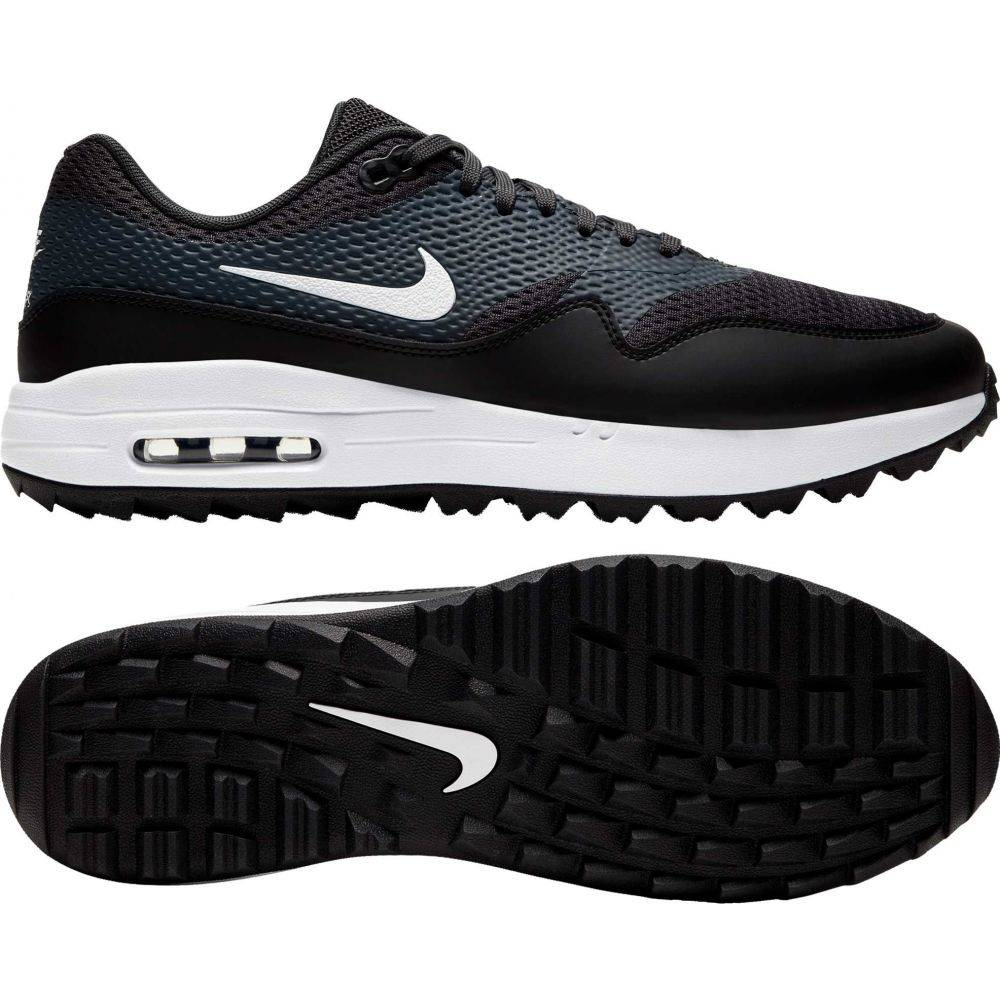 ナイキ Nike メンズ ゴルフ シューズ・靴【2020 Air Max 1 G Golf Shoes】Black/Anthracite/White