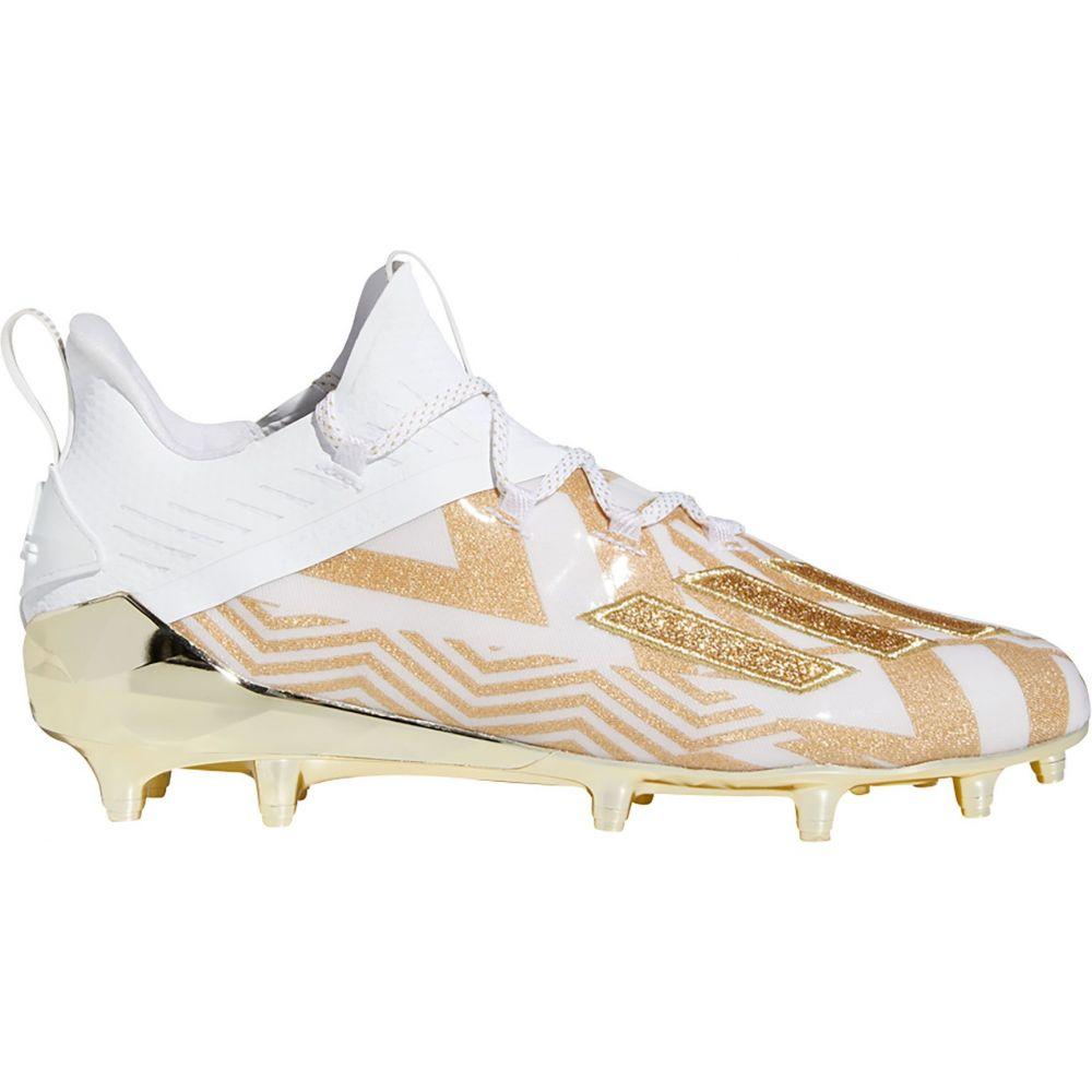 アディダス adidas メンズ アメリカンフットボール シューズ・靴【adizero X Anniversary Carmouflage Football Cleats】White/Gold