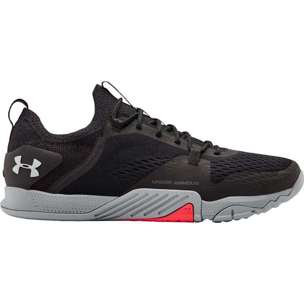 アンダーアーマー Under Armour メンズ フィットネス・トレーニング シューズ・靴【TriBase Reign 2 Training Shoes】Black/Grey
