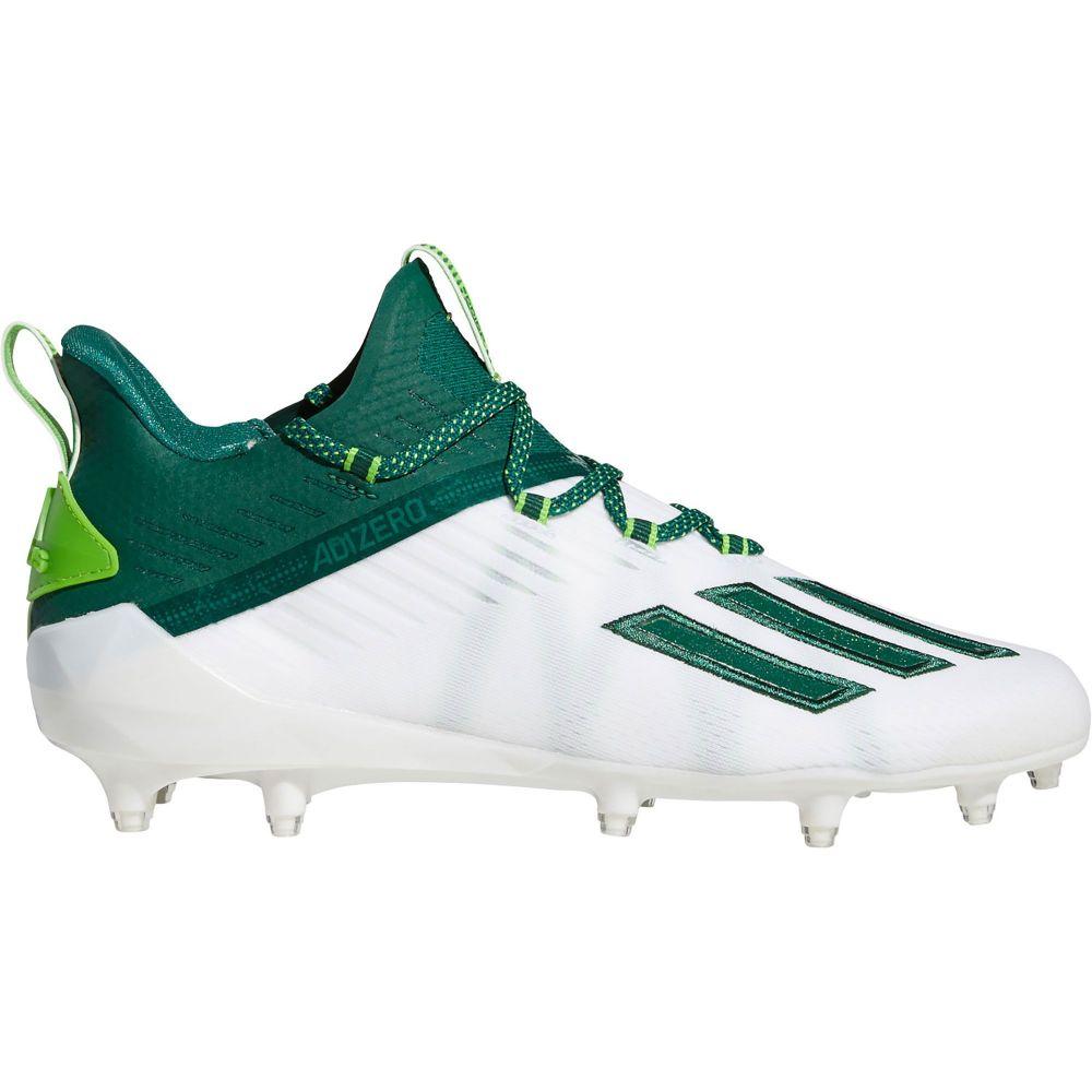 アディダス adidas メンズ アメリカンフットボール シューズ・靴【adizero Football Cleats】White/Green