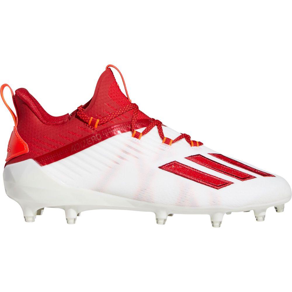アディダス adidas メンズ アメリカンフットボール シューズ・靴【adizero Football Cleats】White/Red