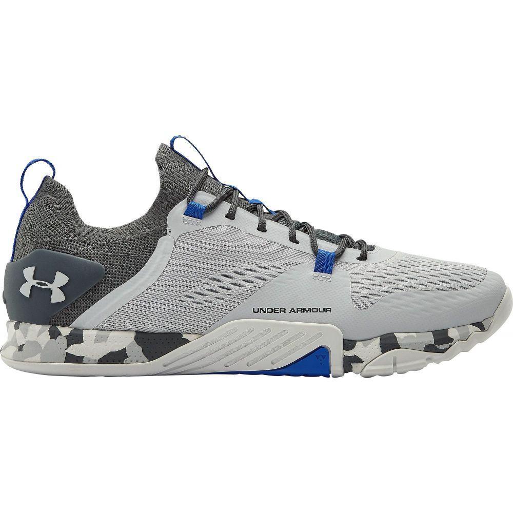 アンダーアーマー Under Armour メンズ フィットネス・トレーニング シューズ・靴【TriBase Reign 2 Training Shoes】Grey/Dark Grey