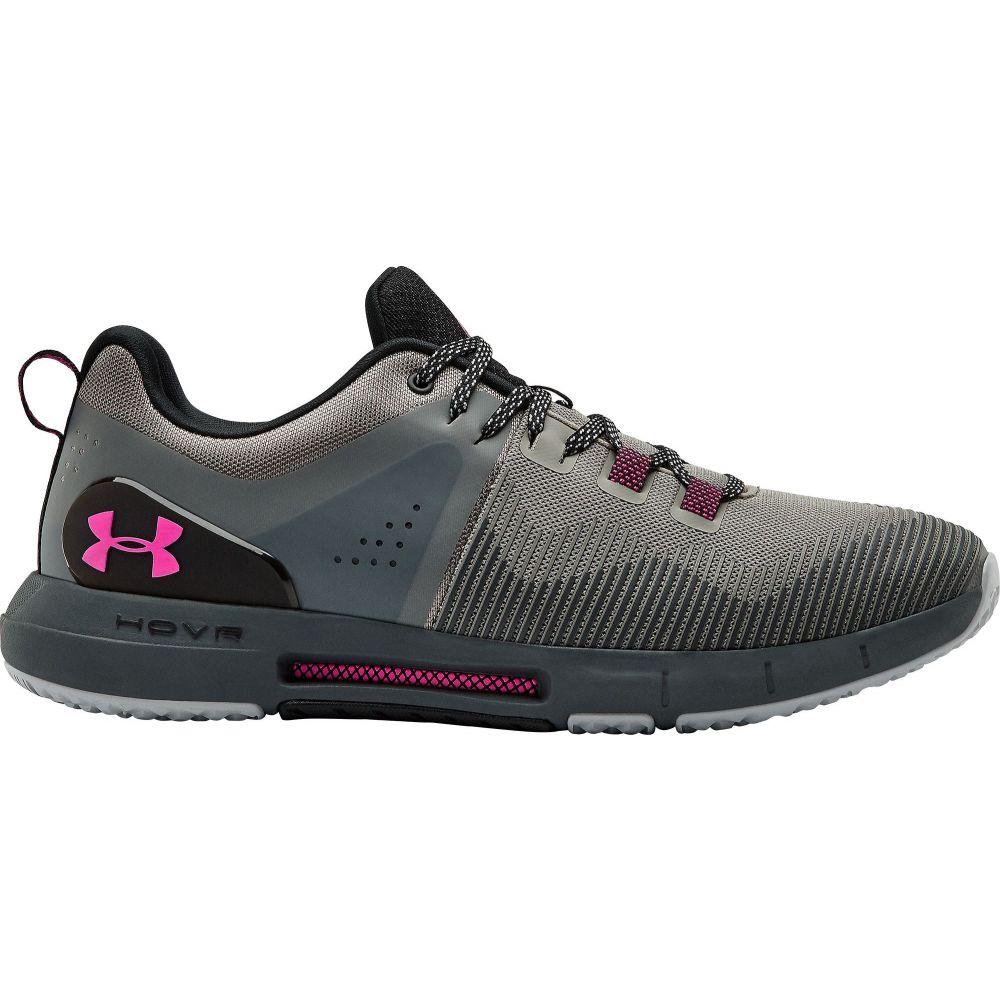 アンダーアーマー Under Armour メンズ フィットネス・トレーニング シューズ・靴【HOVR Rise Training Shoes】Grey/Pink
