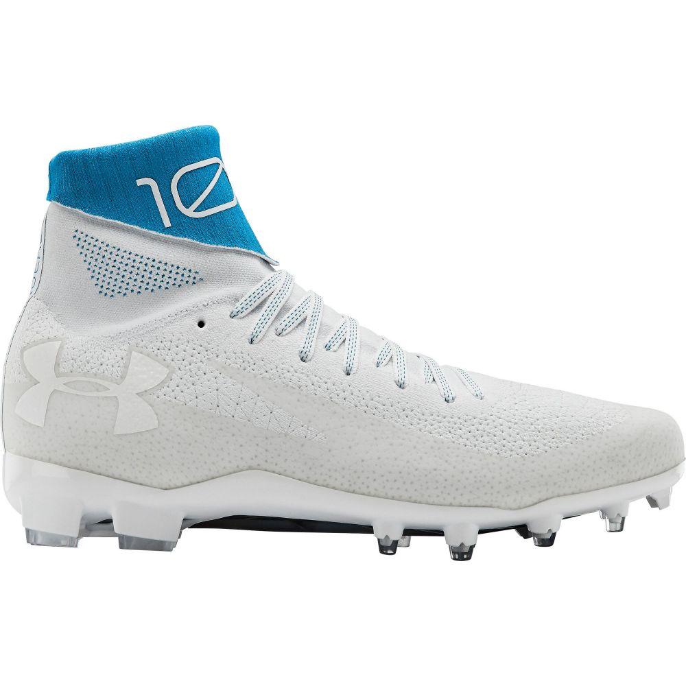 アンダーアーマー Under Armour メンズ アメリカンフットボール シューズ・靴【C1N MC Football Cleats】White/Blue