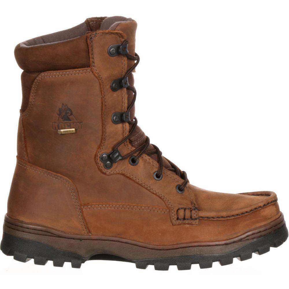ロッキー Rocky メンズ ハイキング・登山 シューズ・靴【Outback 8 GORE-TEX Hiking Boots】Brown