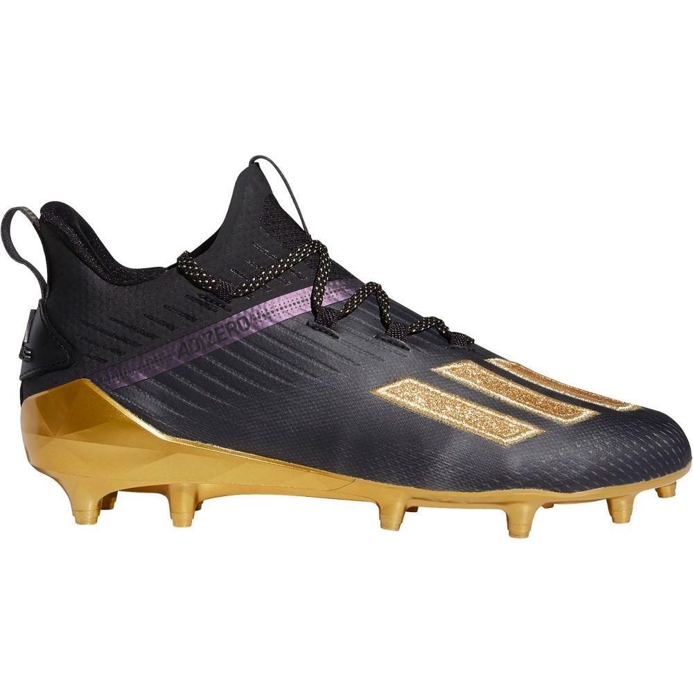 アディダス adidas メンズ アメリカンフットボール シューズ・靴【adizero Football Cleats】Black/Gold