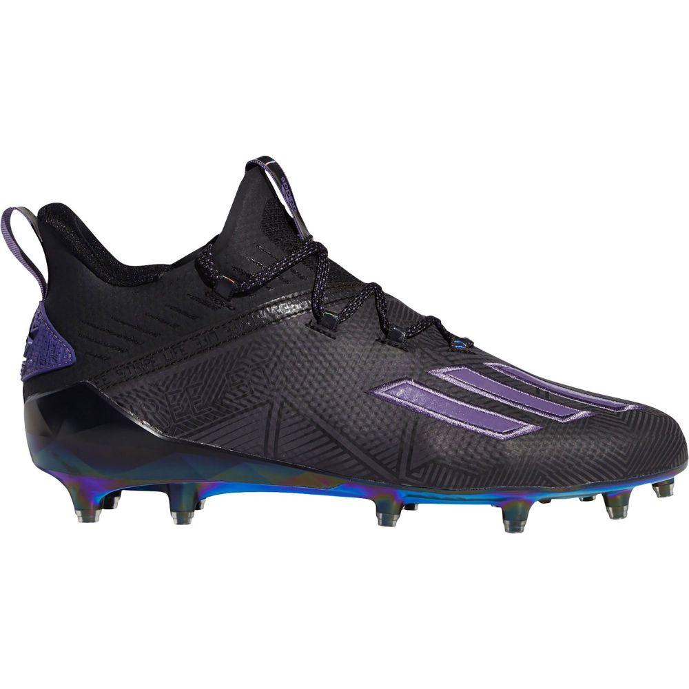 アディダス adidas メンズ アメリカンフットボール シューズ・靴【adizero New Reign Football Cleats】Black/Purple