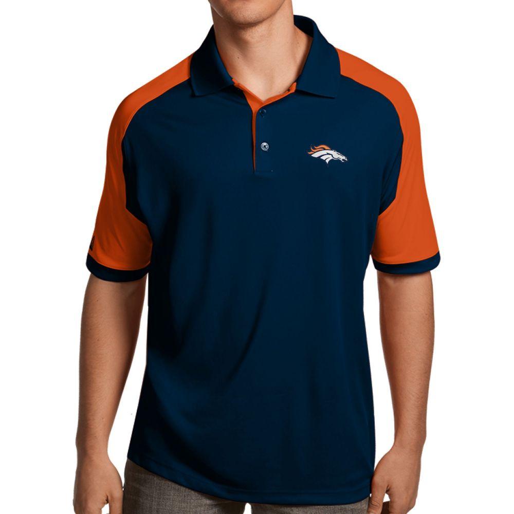 アンティグア Antigua メンズ ポロシャツ トップス【Denver Broncos Century Navy Polo】