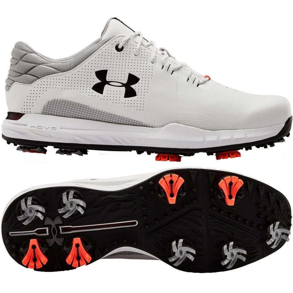 アンダーアーマー Under Armour メンズ ゴルフ シューズ・靴【HOVR Matchplay Golf Shoes】White/Black
