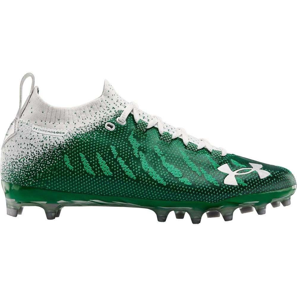 アンダーアーマー Under Armour メンズ アメリカンフットボール シューズ・靴【Spotlight Lux MC Football Cleats】Green/White