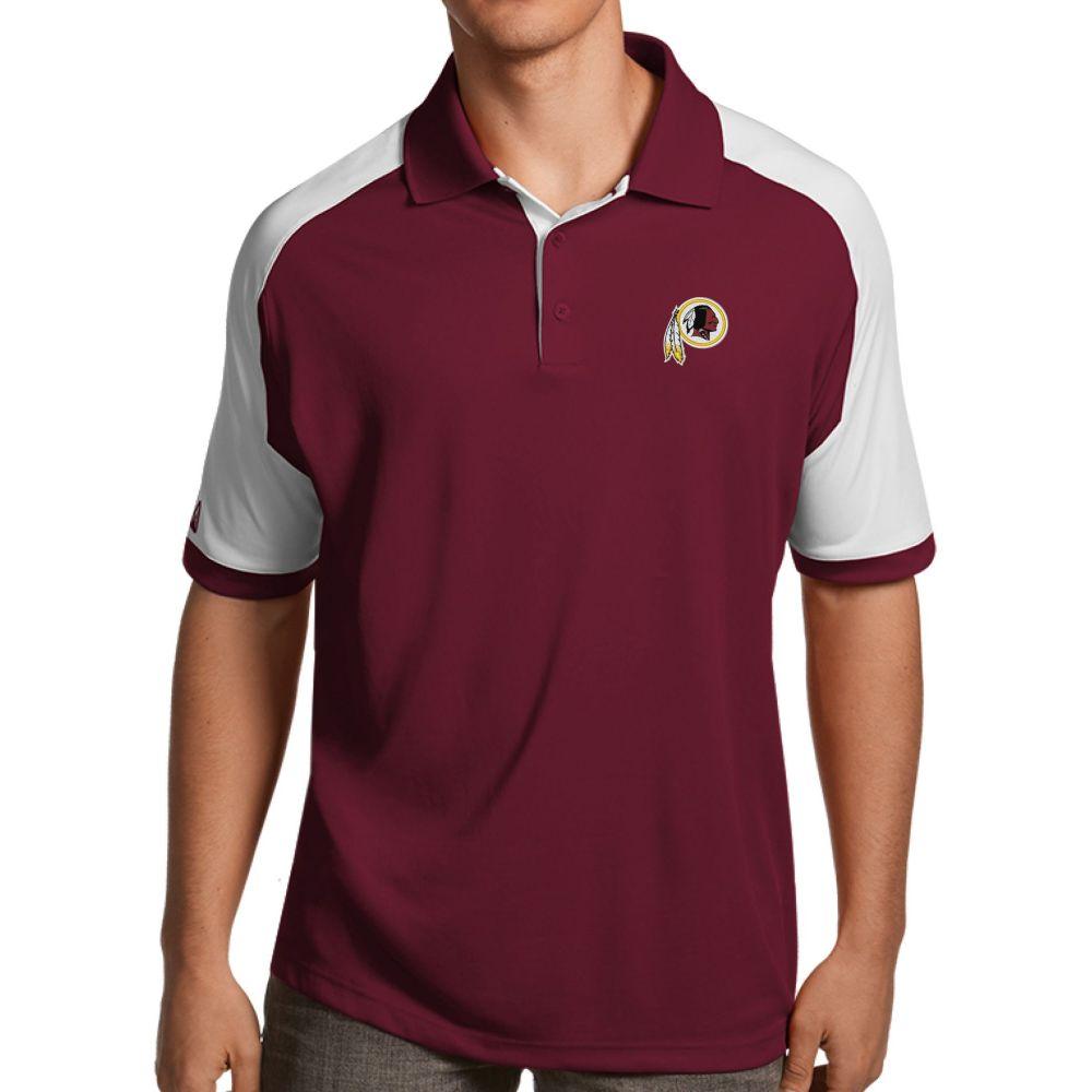 アンティグア Antigua メンズ ポロシャツ トップス【Washington Redskins Century Red Polo】