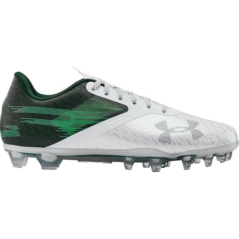 アンダーアーマー Under Armour メンズ アメリカンフットボール シューズ・靴【Blur Lux MC Football Cleats】Green/White