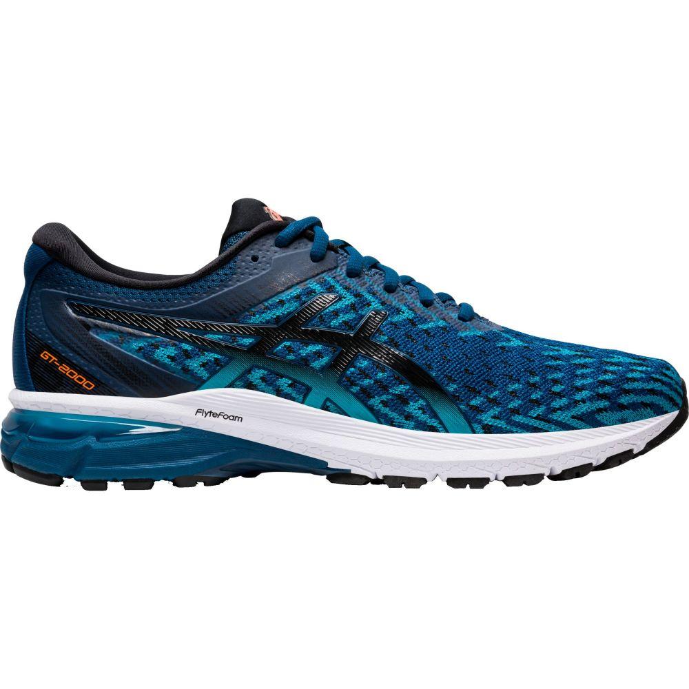 アシックス ASICS メンズ ランニング・ウォーキング シューズ・靴【GT-2000 8 Knit Running Shoes】Blue/Black
