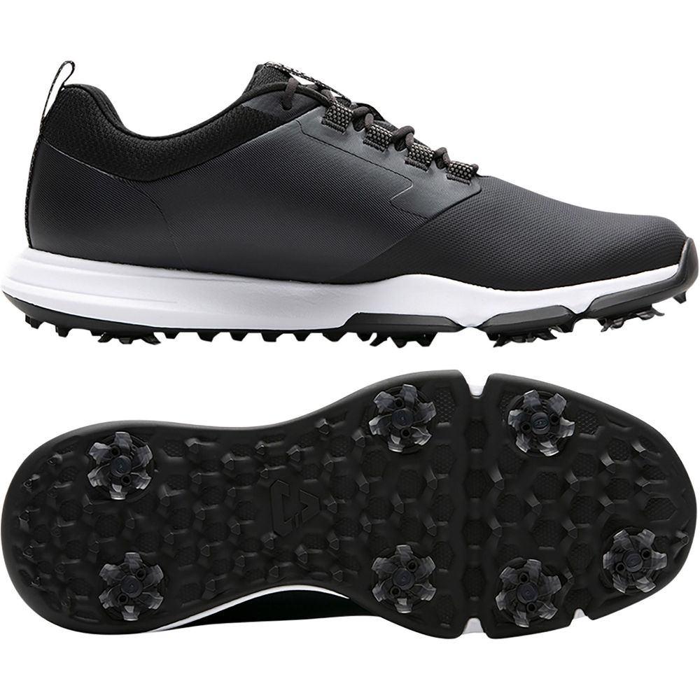 トラビスマシュー TravisMathew メンズ ゴルフ シューズ・靴【Cuater by The Ringer Golf Shoes】Black