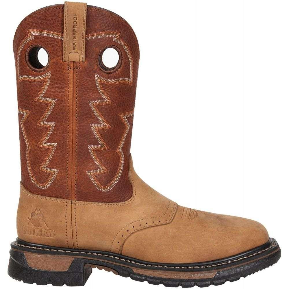 ロッキー Rocky メンズ ブーツ シューズ・靴【Original Ride 11 Steel Toe Western Work Boots】Crazy Horse/Bridle Brown