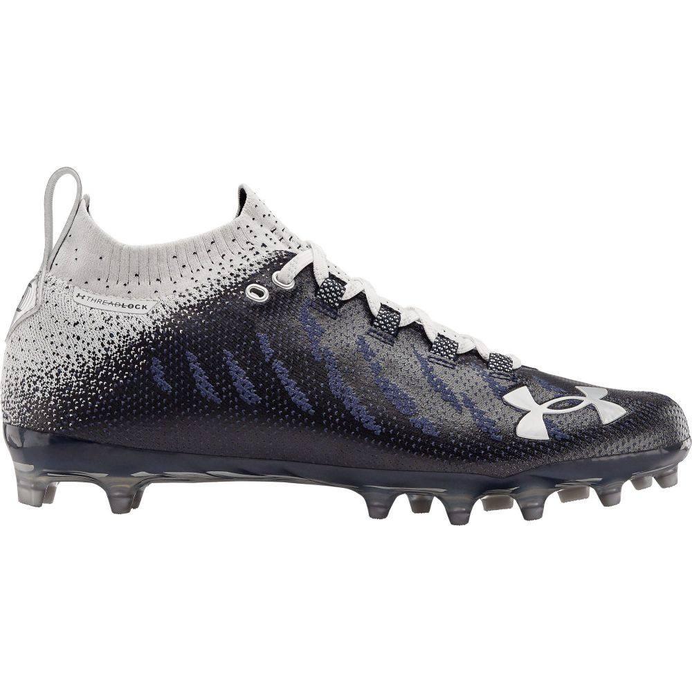 アンダーアーマー Under Armour メンズ アメリカンフットボール シューズ・靴【Spotlight Lux MC Football Cleats】Navy/White