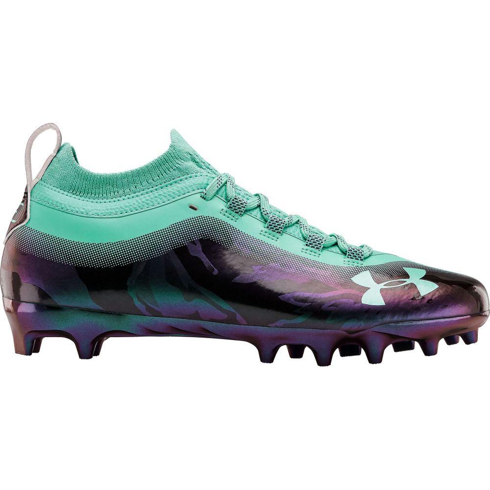 アンダーアーマー Under Armour メンズ アメリカンフットボール シューズ・靴【Spotlight Lux LE MC Football Cleats】Blue/Purple