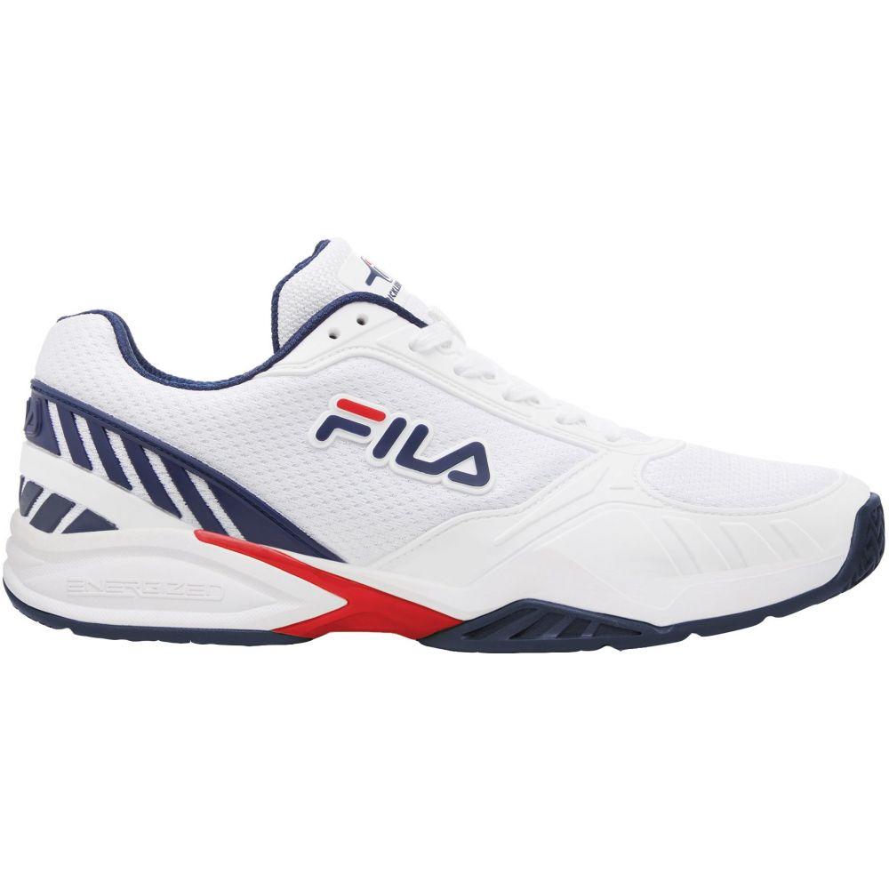 フィラ Fila メンズ スニーカー シューズ・靴【Volley Zone Pickleball Shoes】White/Navy/Red