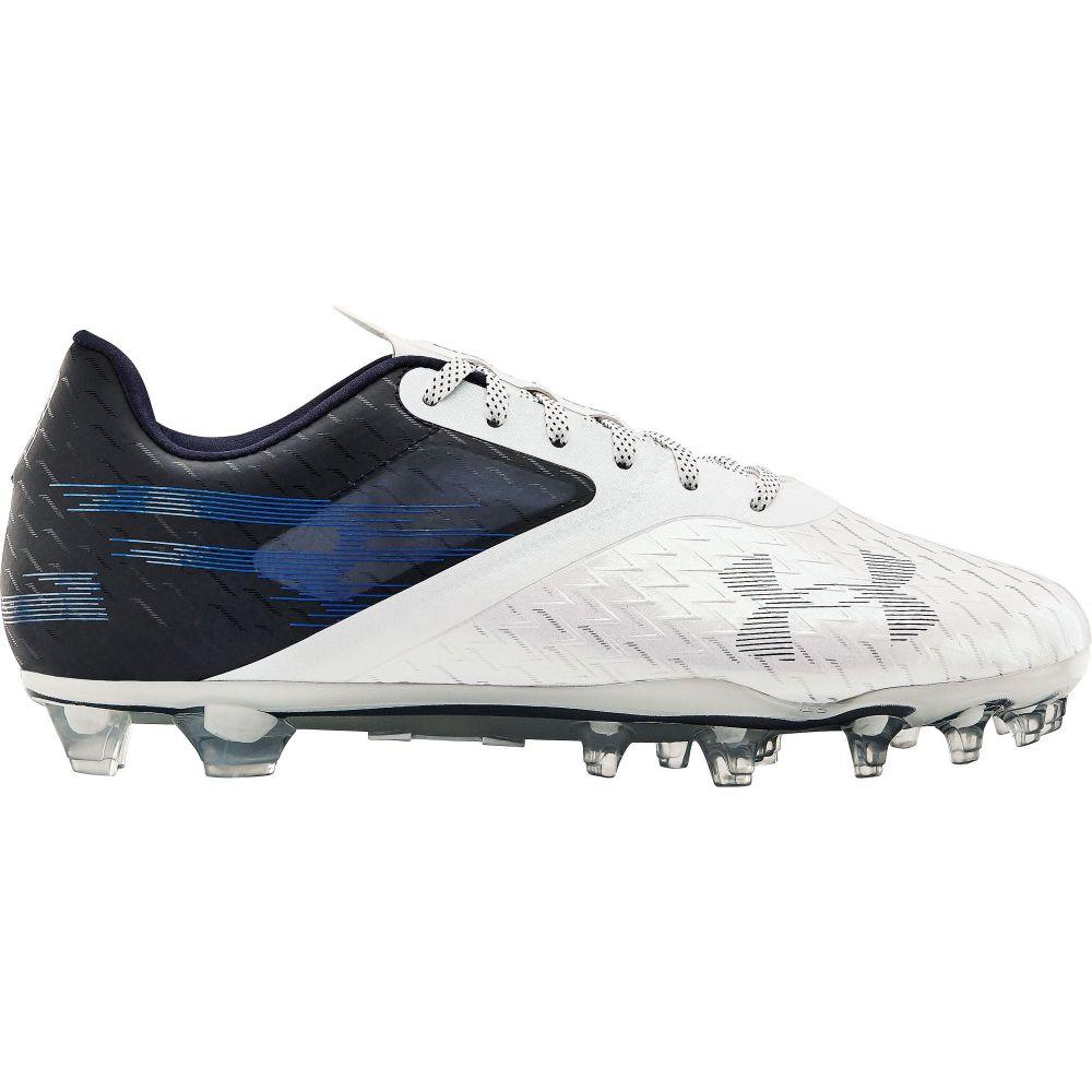 アンダーアーマー Under Armour メンズ アメリカンフットボール シューズ・靴【Blur Lux MC Football Cleats】Navy/White