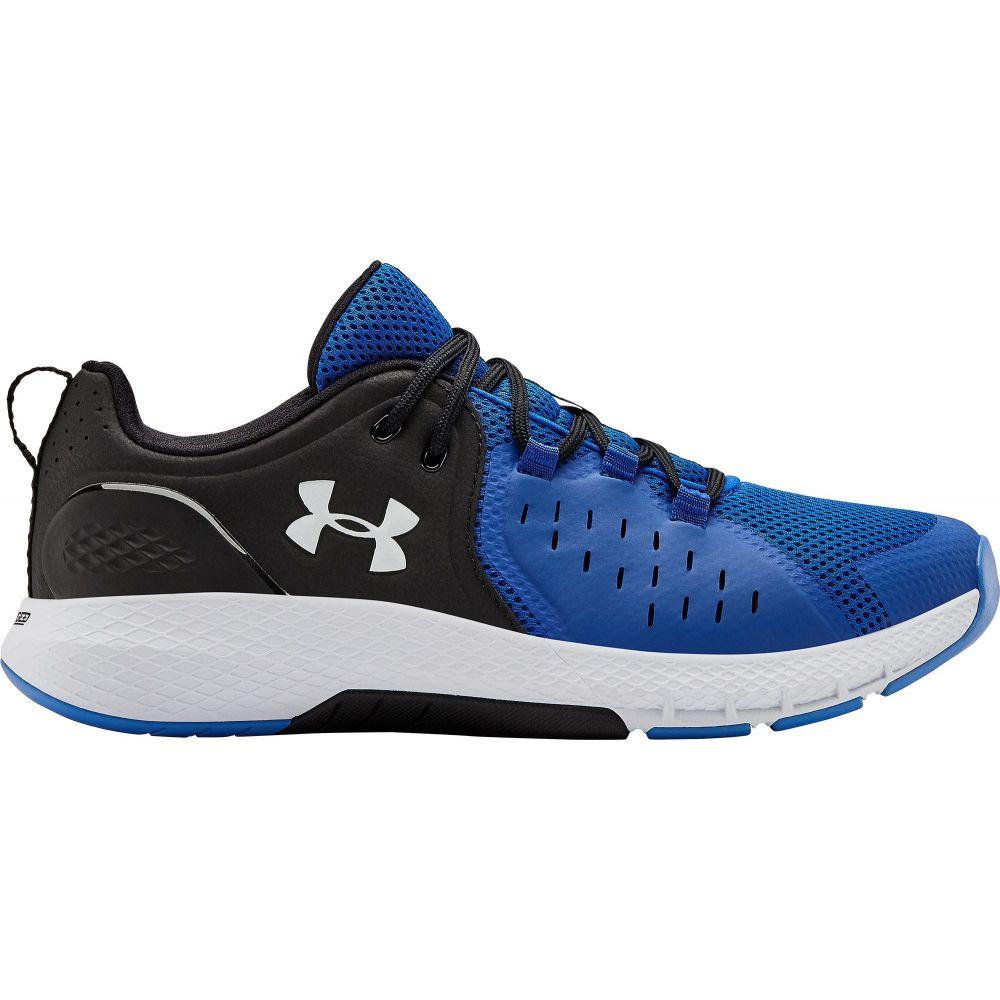 アンダーアーマー Under Armour メンズ フィットネス・トレーニング シューズ・靴【Charged Commit TR 2.0 Training Shoes】Blue/Black