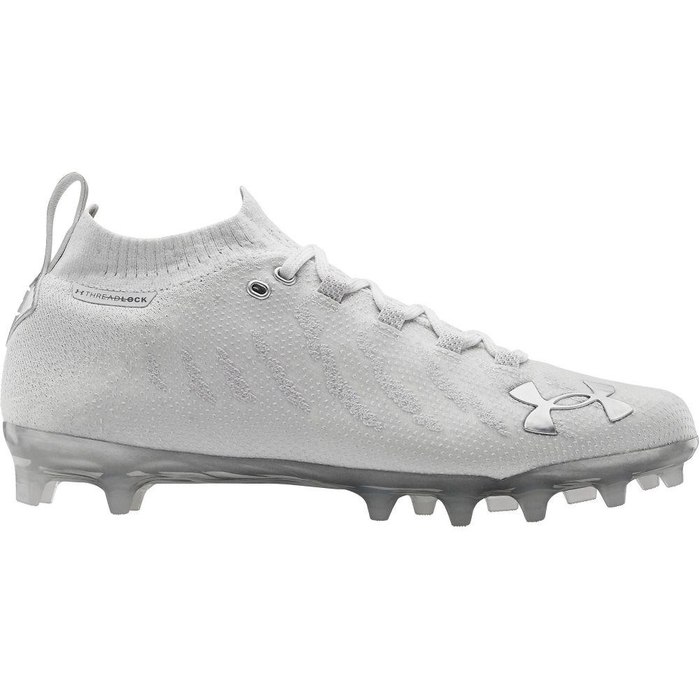 アンダーアーマー Under Armour メンズ アメリカンフットボール シューズ・靴【Spotlight Lux MC Football Cleats】White/Silver