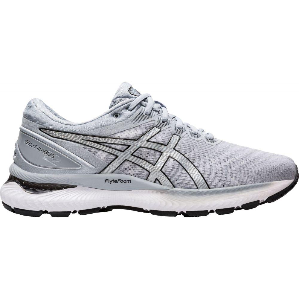 アシックス ASICS メンズ ランニング・ウォーキング シューズ・靴【GEL-Nimbus 22 Running Shoes】White/Silver