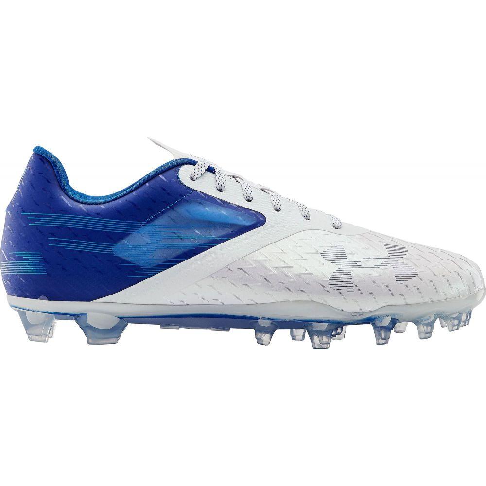 アンダーアーマー Under Armour メンズ アメリカンフットボール シューズ・靴【Blur Lux MC Football Cleats】Royal/White