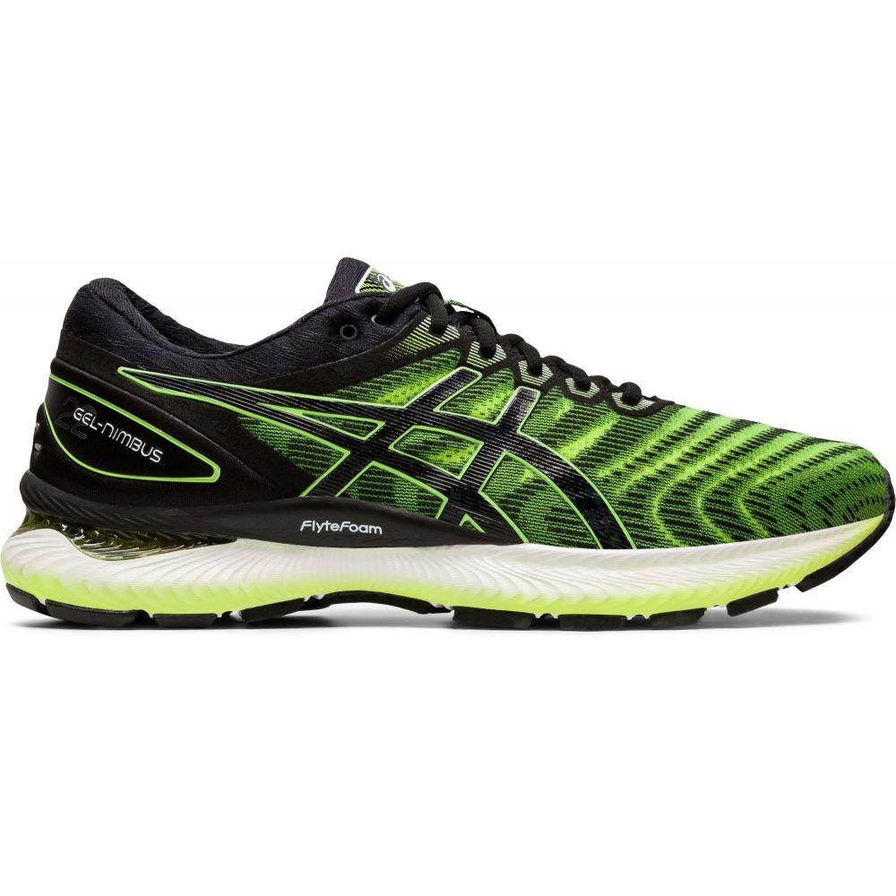 アシックス ASICS メンズ ランニング・ウォーキング シューズ・靴【GEL-Nimbus 22 Running Shoes】Lime Green/Black