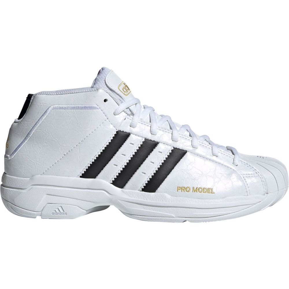 アディダス adidas メンズ バスケットボール シューズ・靴【Pro Model 2G Basketball Shoes】Black
