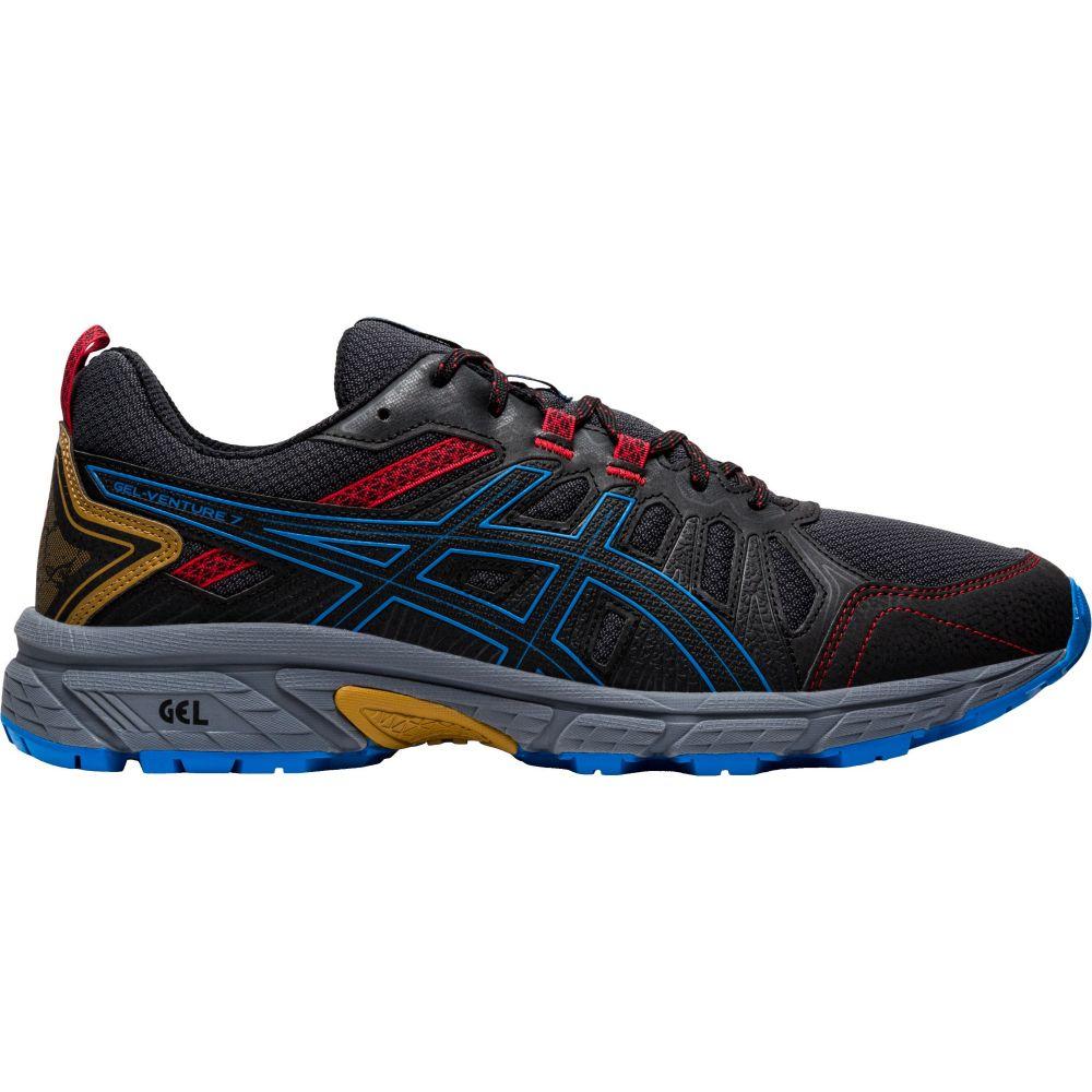 アシックス ASICS メンズ ランニング・ウォーキング シューズ・靴【GEL-Venture 7 Trail Running Shoes】Black/Blue/Red