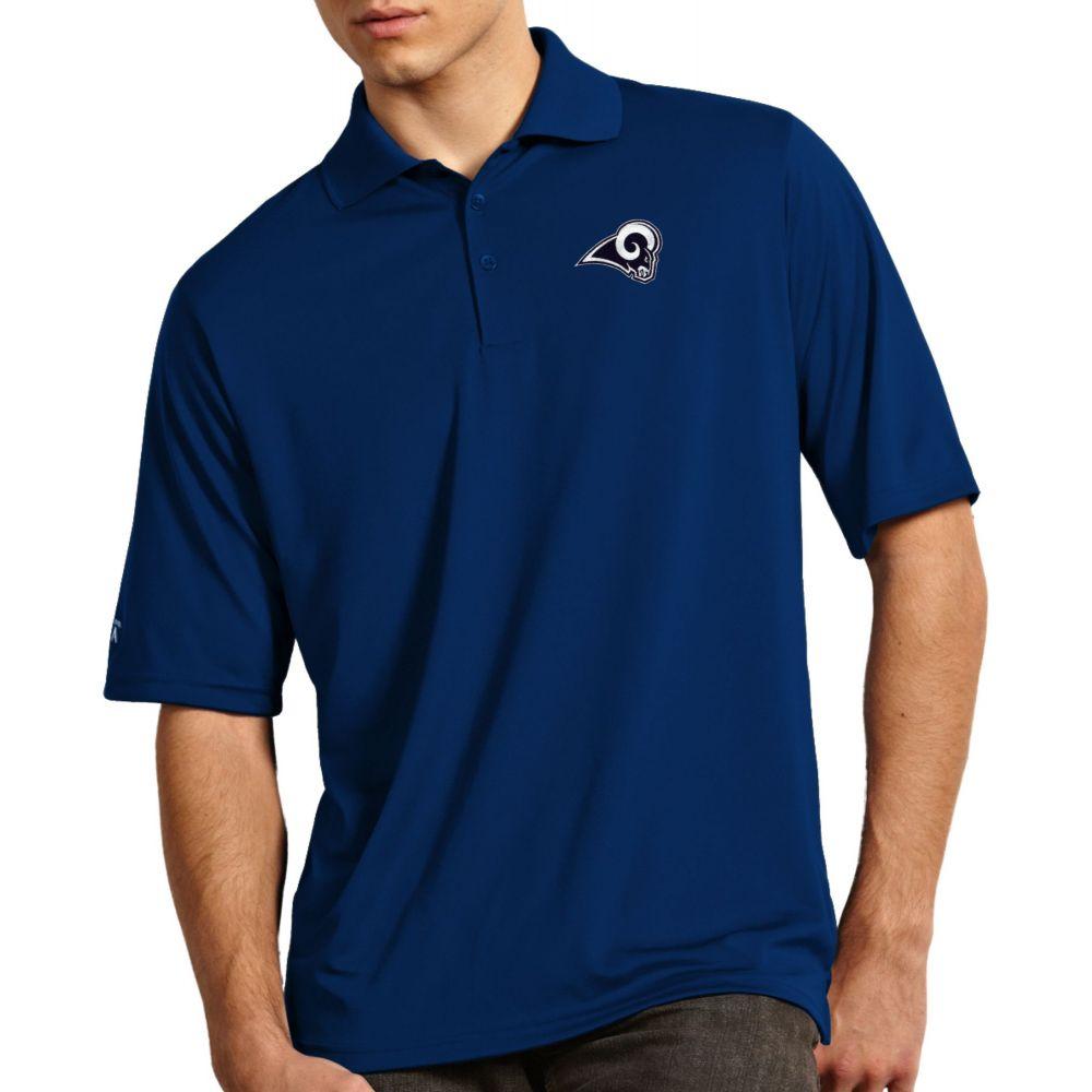 アンティグア Antigua メンズ ポロシャツ トップス【Los Angeles Rams Exceed Polo】