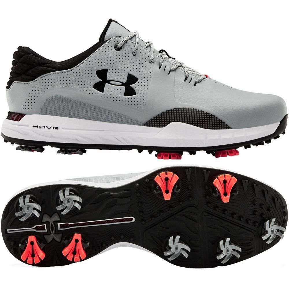 アンダーアーマー Under Armour メンズ ゴルフ シューズ・靴【HOVR Matchplay Golf Shoes】Grey/Black