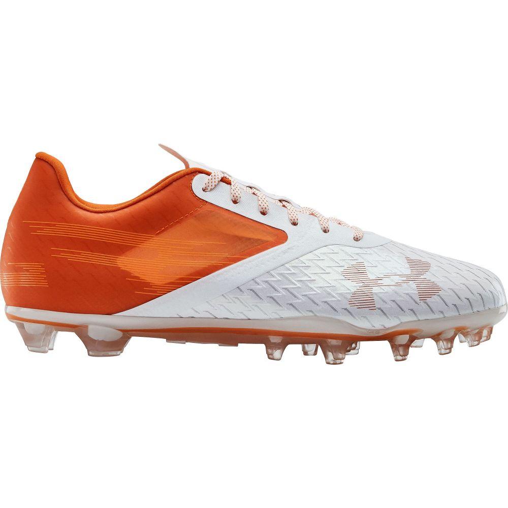 アンダーアーマー Under Armour メンズ アメリカンフットボール シューズ・靴【Blur Lux MC Football Cleats】Orange/White