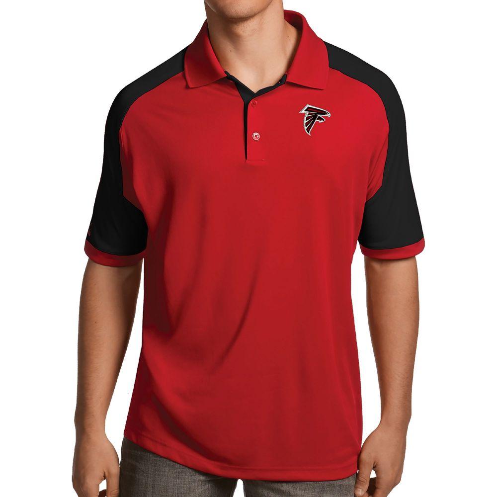 アンティグア Antigua メンズ ポロシャツ トップス【Atlanta Falcons Century Red Polo】