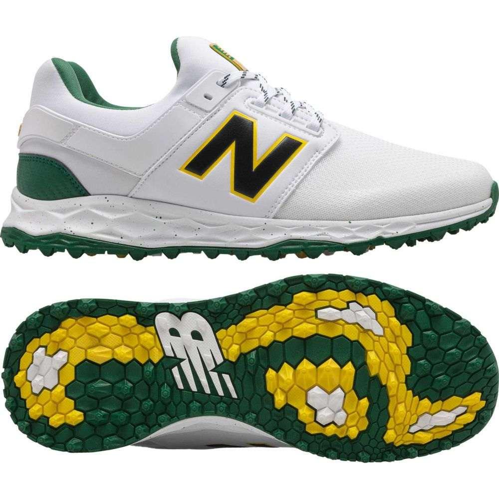 ニューバランス New Balance メンズ ゴルフ シューズ・靴【Fresh Foam LinksSL Golf Shoes】White/Green