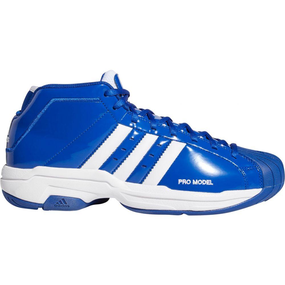 アディダス adidas メンズ バスケットボール シューズ・靴【Pro Model 2G Basketball Shoes】Blue/White/Blue