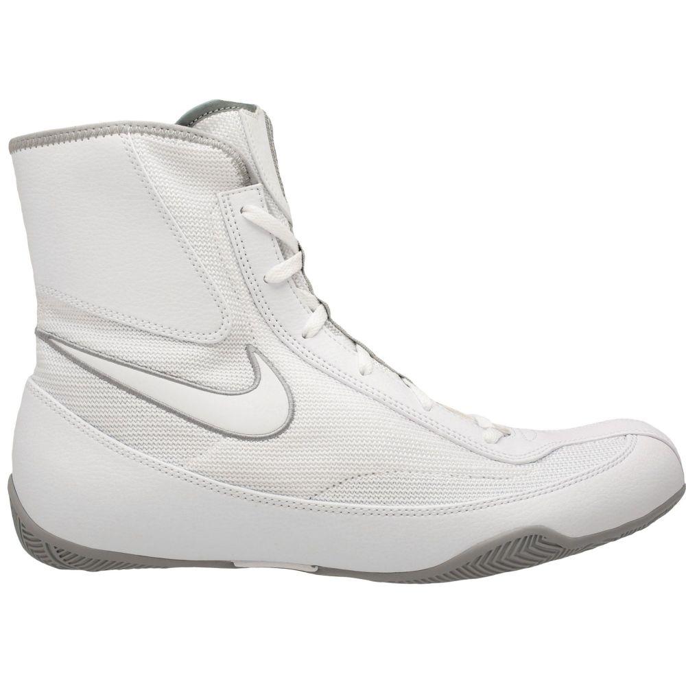 ナイキ Nike メンズ シューズ・靴【Machomai Mid Boxing Shoes】White/Silver
