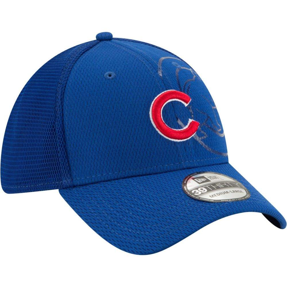 ニューエラ New Era メンズ 帽子Chicago Cubs Blue 39Thirty Tonel Neo Stretch Fit HatsQthrdCx