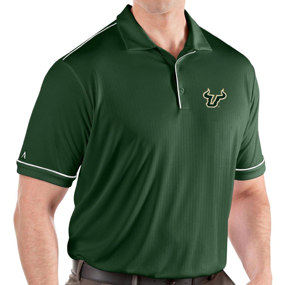 アンティグア Antigua メンズ ポロシャツ トップス【South Florida Bulls Green Salute Performance Polo】