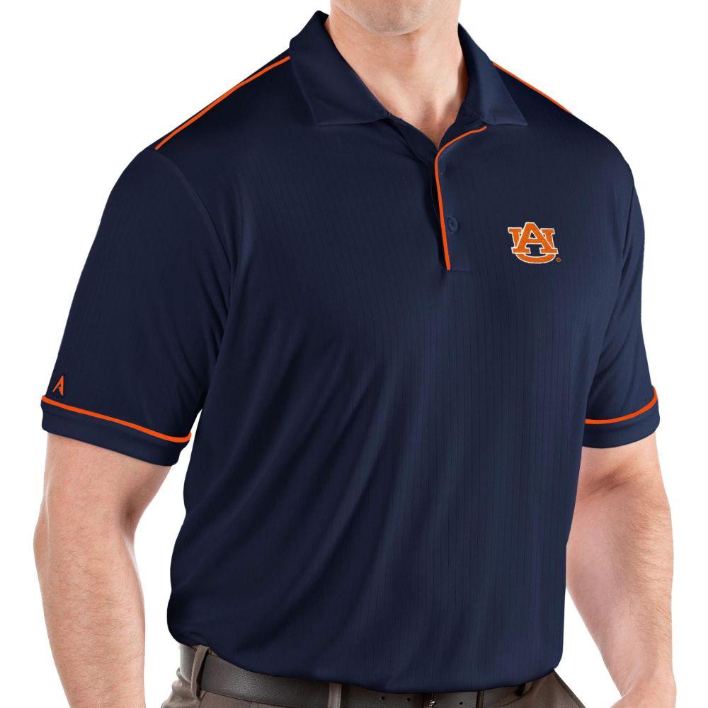 アンティグア Antigua メンズ ポロシャツ トップス【Auburn Tigers Blue Salute Performance Polo】