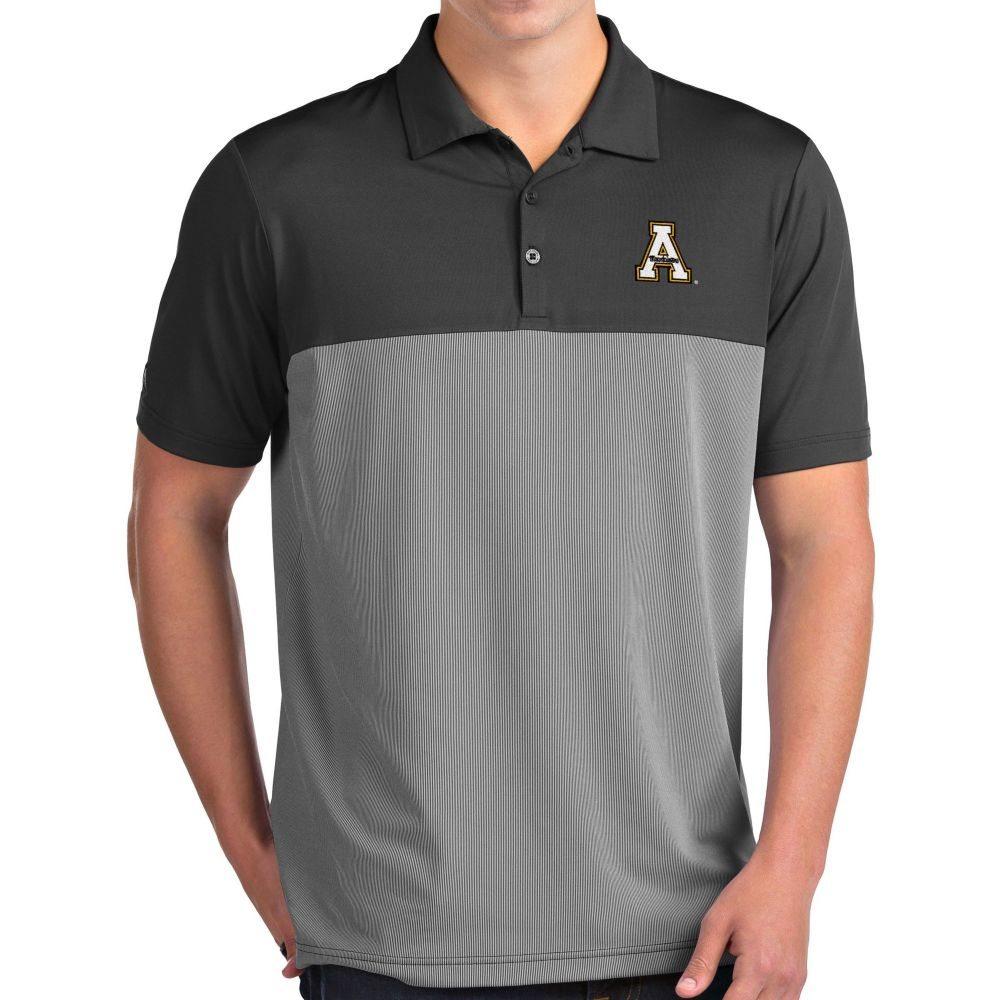 アンティグア Antigua メンズ ポロシャツ トップス【Appalachian State Mountaineers Grey Venture Polo】