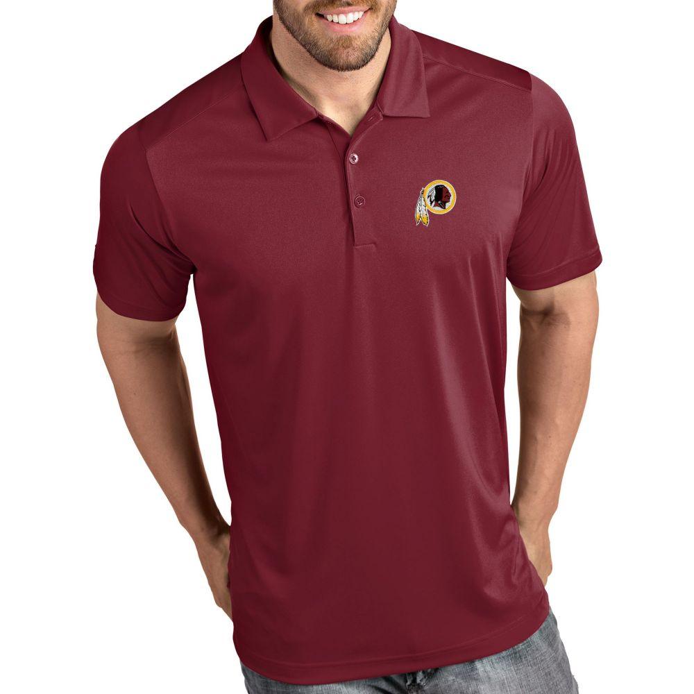 アンティグア Antigua メンズ ポロシャツ トップス【Washington Redskins Tribute Red Polo】