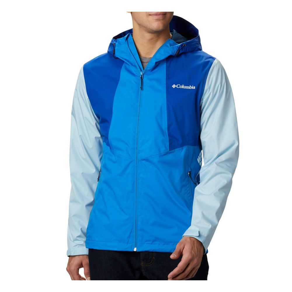 コロンビア Columbia メンズ レインコート アウター【Inner Limits II Rain Jacket】Azure Blue/Azul/Sky Blue