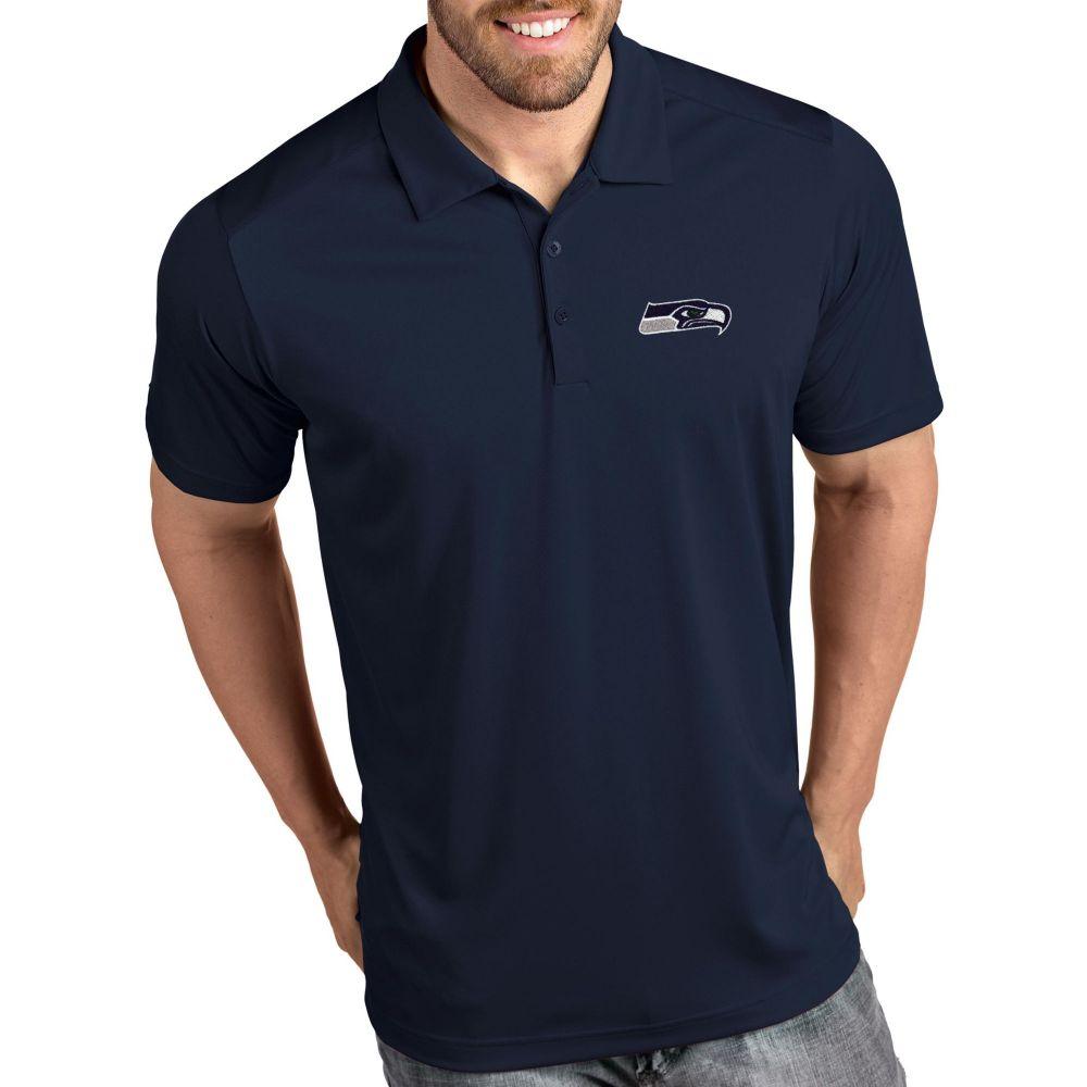 アンティグア Antigua メンズ ポロシャツ トップス【Seattle Seahawks Tribute Navy Polo】