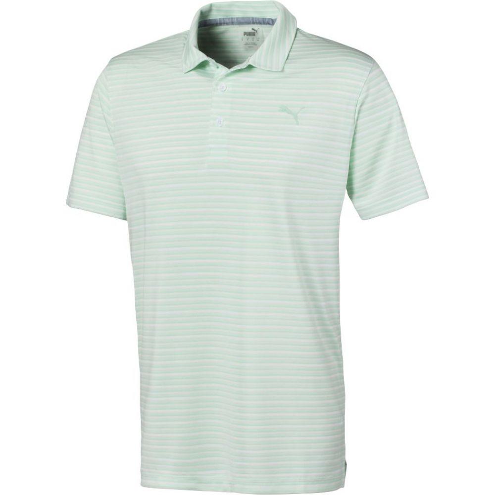 プーマ PUMA メンズ ゴルフ トップス【Links Golf Polo】Mist Green