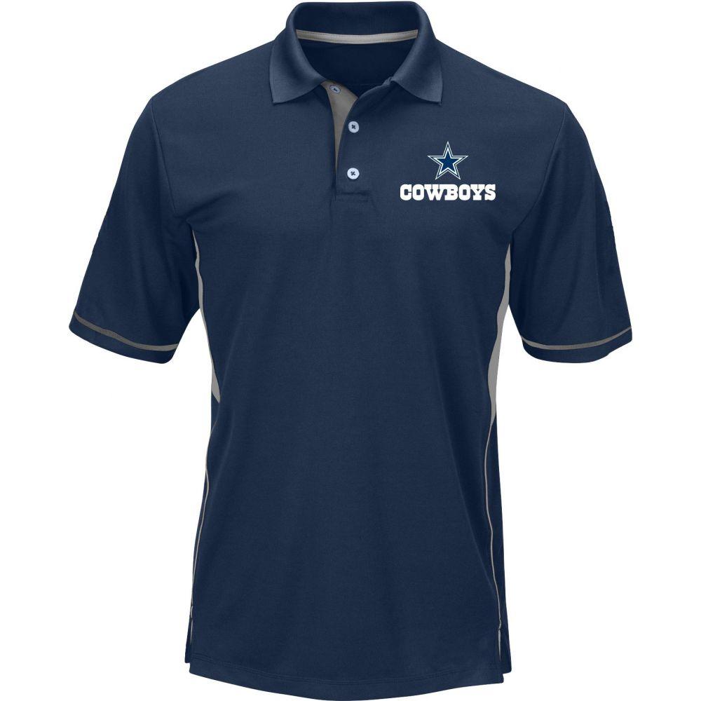 ダラス カウボーイズ Dallas Cowboys メンズ ポロシャツ トップス【Merchandising Navy Polo】