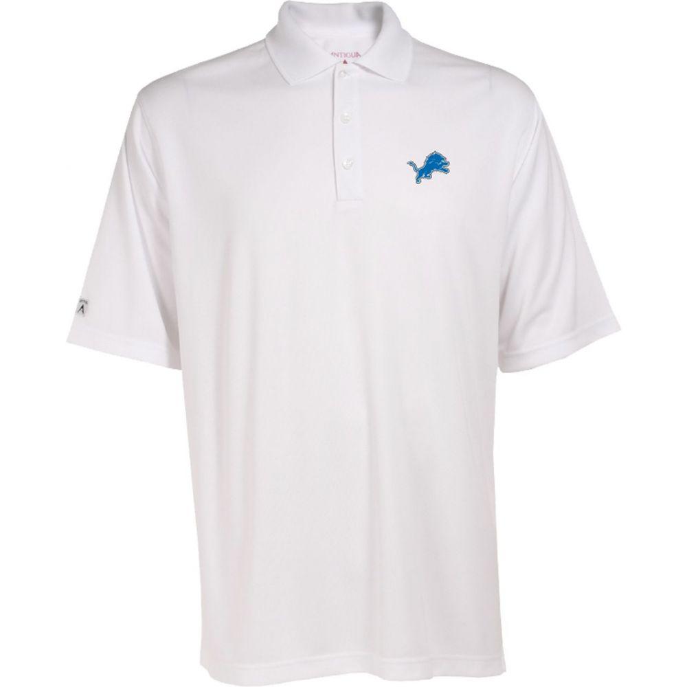 アンティグア Antigua メンズ ポロシャツ トップス【Detroit Lions Exceed Polo】