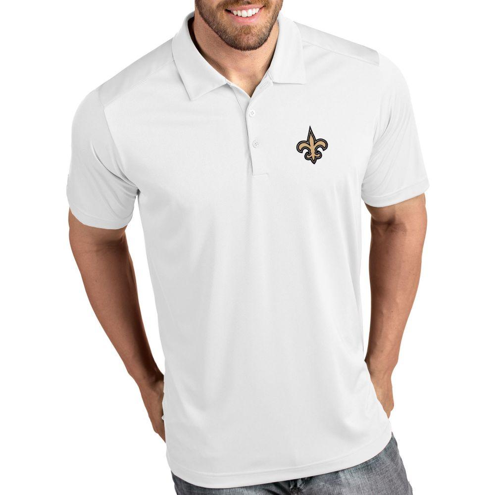 アンティグア Antigua メンズ ポロシャツ トップス【New Orleans Saints Tribute White Polo】