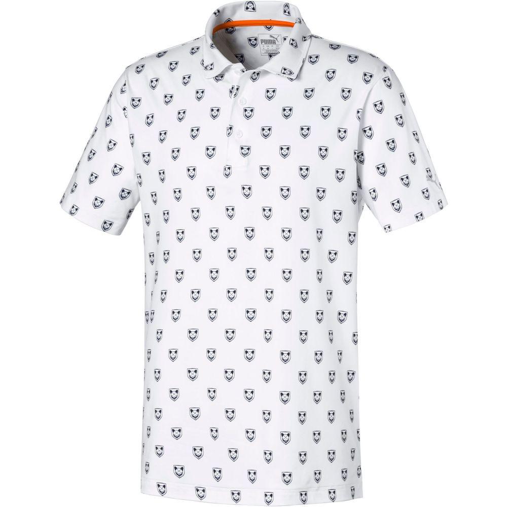 プーマ PUMA メンズ ゴルフ トップス【X Collection Skull Golf Polo】Bright White